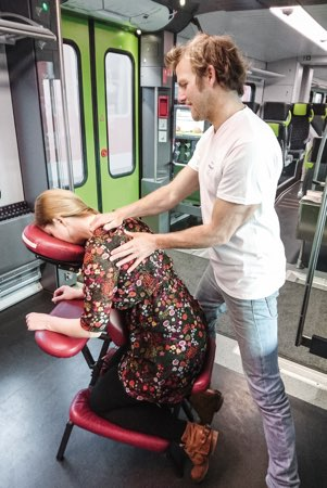 Mobile Massage in der nordbahn
